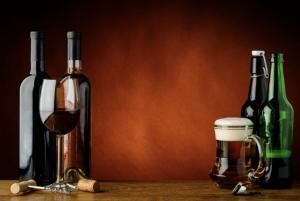 Black Belt Salsa wine and beer